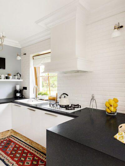 Gotham Grey Honed Kitchen Installation